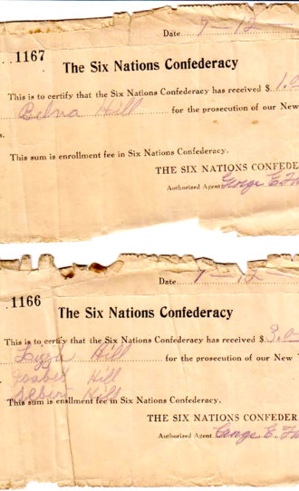 Collusion against Six Nations in 1923