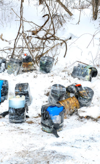 Toxic drug lab waste dumped in Brantford