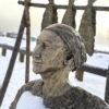 Soldotna man honours Dena'ina heritage with Anchorage statue (AK-Denaina-Statue)