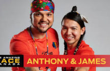 The Amazing Race shows off indigenous couple