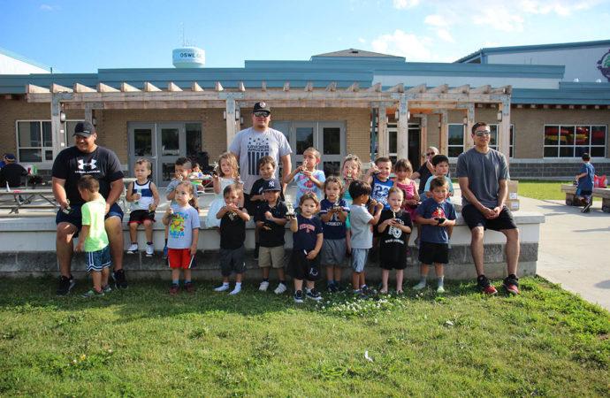 Junior Paperweights celebrate end of season
