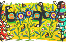 Google 'doodle' by Ontario Ojibwe artist celebrates jingle dress dance