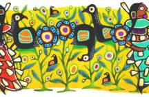 Google 'doodle' by Ontario Ojibwe artist celebrates jingle dress dance