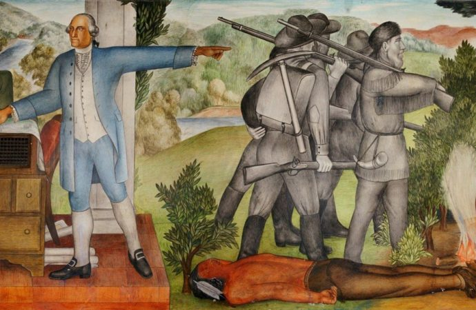 Activists want a racist San Francisco high school mural removed