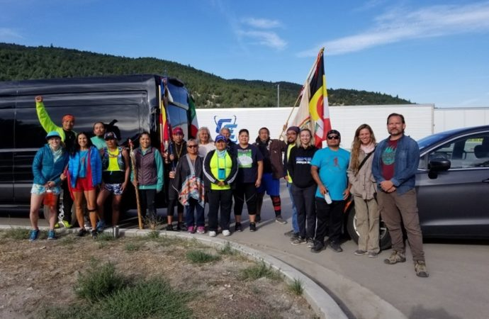 Diné woman leads 360 mile run to raise awareness