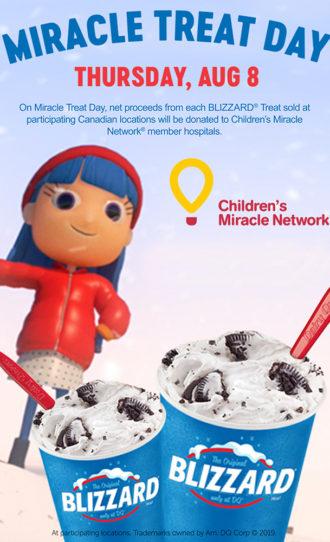Ice cream fundraiser for McMaster Children's Hospital