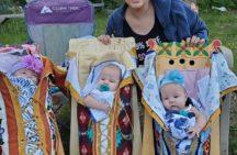 Cradleboard Triplets receive praise online