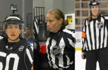 Female officials in the NHL