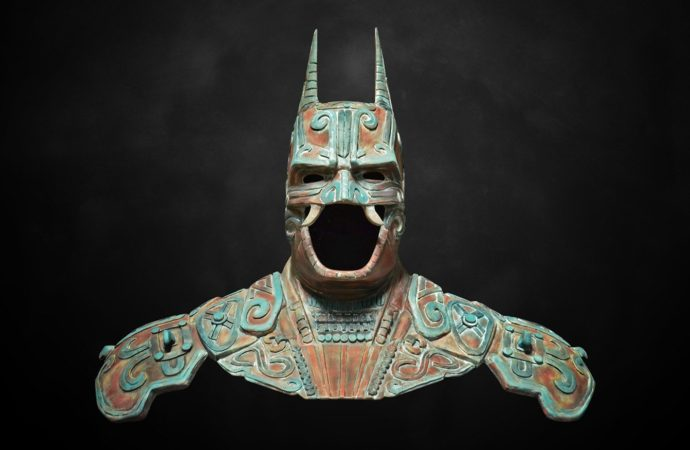 Meet the Mesoamerican Batman look-alike