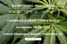 Press Release: National Indigenous Cannabis & Hemp Conference 2019