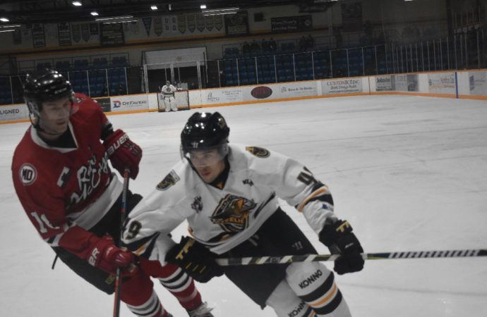Steelhawks' Cameron Sault not shocked about Allan Cup Hockey League cancellation