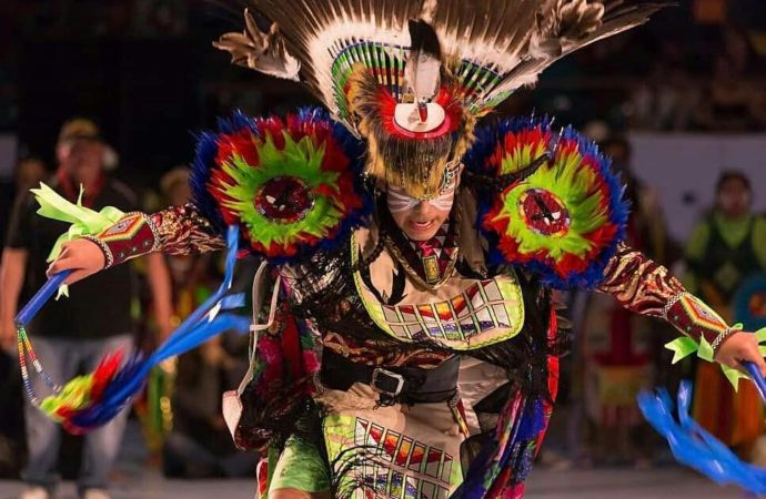 Powwows across US adapt to pandemic for a second year