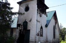 Apparent arson destroys part of history as St. John's Tuscarora Church set ablaze