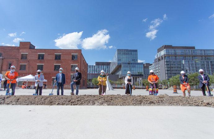 Ceremony for Ontario's new Indigenous Hub in Toronto