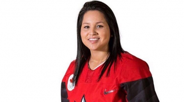 Brigette Lacquette now a scout for the Chicago Blackhawks